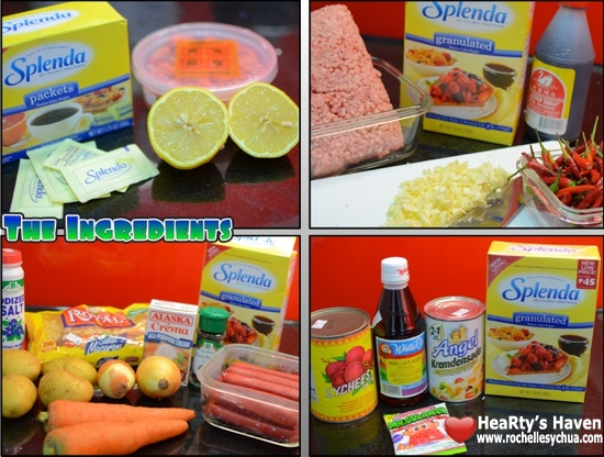 Splenda Recipes Ingredients