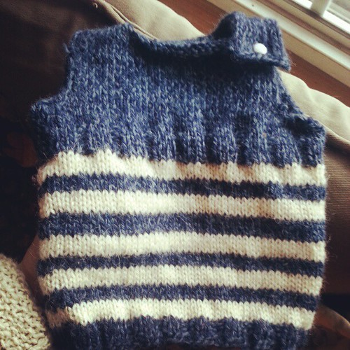Finished #knitting. Now he can come.. #40weeks
