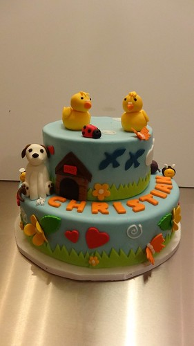 Animal Love Birthday Cake by CAKE Amsterdam - Cakes by ZOBOT