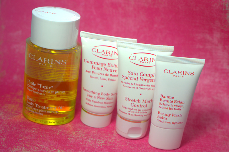 Preggo Products: Clarins Beauty Beginnings Pregnancy Kit
