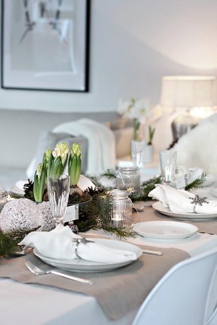 como decorar la mesa de navidad (2)