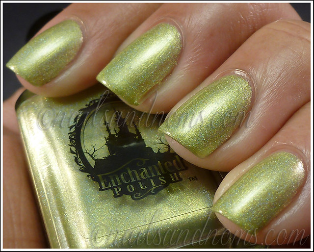 Enchanted Polish Ho Ho Holoday - Green Peace On Earth 2