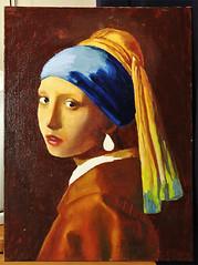 Вермеер. Девушка с жемчужной серёжкой. 6