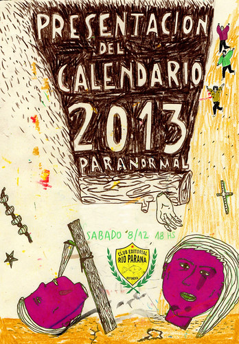 Calendario Paranormal Sobrenatural 2013