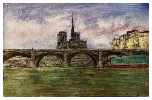 012-Puente de Tournelle-Paris (1909)-Mortimer Menpes
