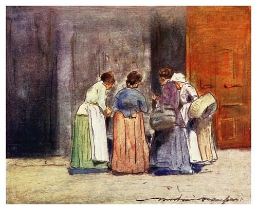 013- De compras en la orilla del Sena-Paris (1909)-Mortimer Menpes