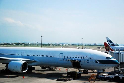 這是等等要載我們去日本關西的飛機.....