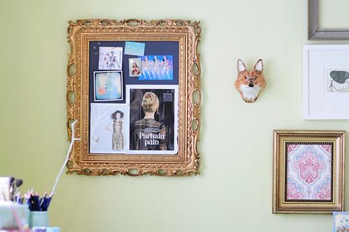 DIY Magnetic Inspiration Board