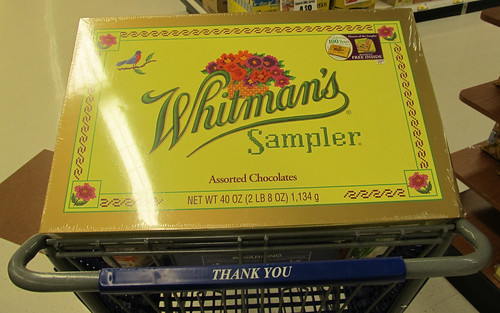 HUGE 2.5 lb Whitman's Sampler Box