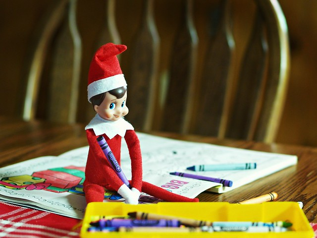 Day 4 : Elf on the Shelf