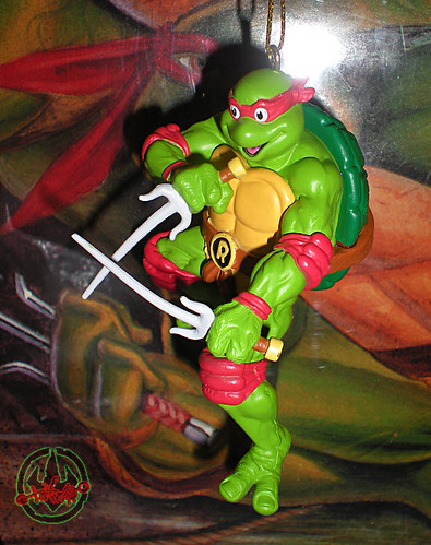 "AMERICAN GREETINGS :: TEENAGE MUTANT NINJA TURTLES - ""RAPHAEL"" Ornament vi (( 2012 ))"