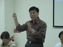漁業署漁政組資源科長王茂城。