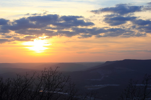 Sunset on Lookout Mountain