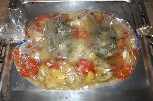 40 - Bratschlauch entnehmen / Take oven bag