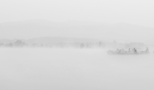 morning mist on river denwa II