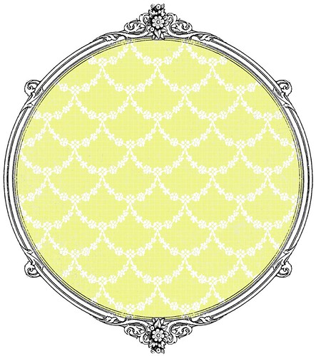 13 Chartreuse GF garland paper -  free printable paper SAMPLE
