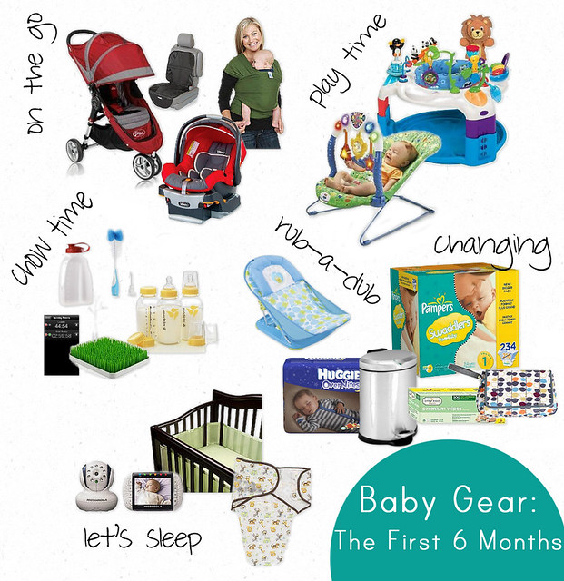 Baby Gear - The First 6 Months