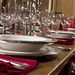 Small photo of Pewter Rimmed Dinnerware By Match Pewter