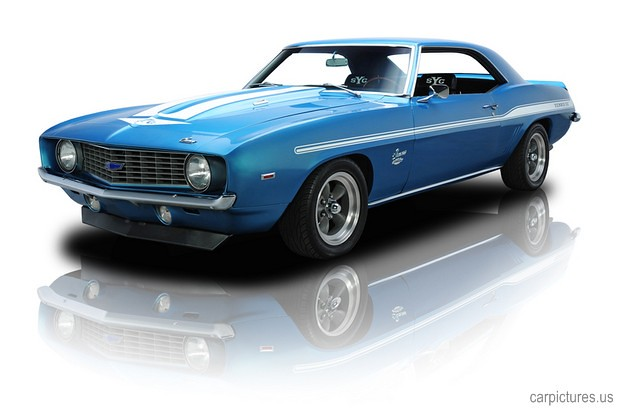 1969 Chevrolet Camaro Yenko 427 V8 Lemans Blue