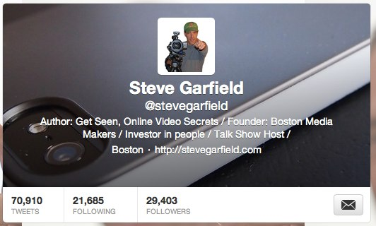 Steve Garfield (stevegarfield) on Twitter