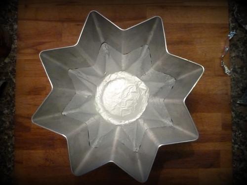 stampo preparato-lined mold