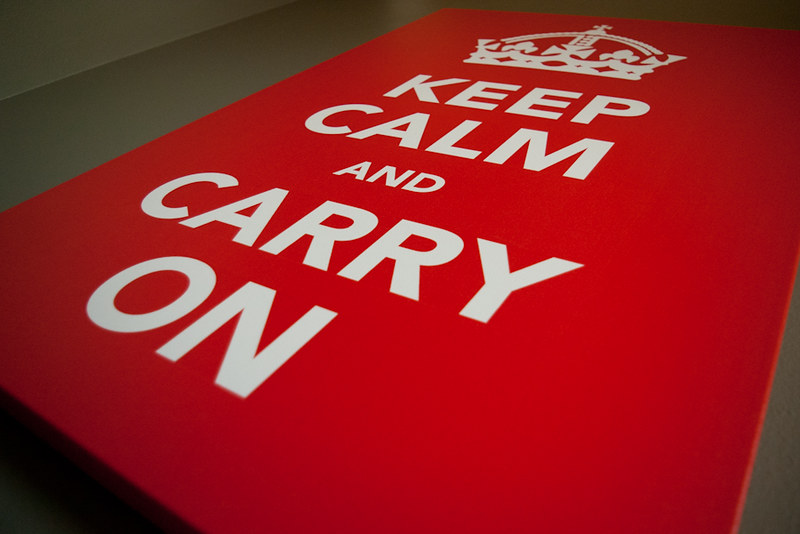 Carry On....