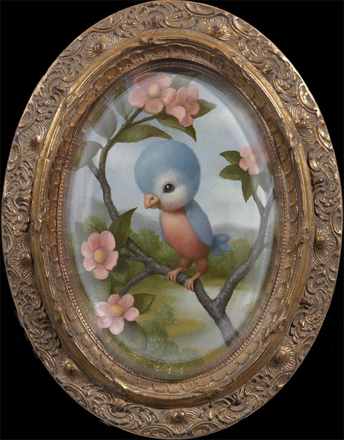 Marion Peck, Birdy, Oil on canvas, 2007