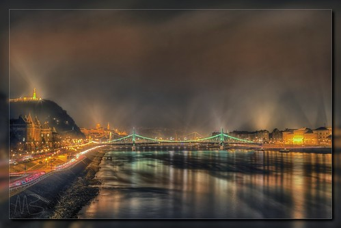 bridge sky water fog architecture night reflections river lights europe hungary budapest illumination duna danube hdr gellert donau libertybridge elizabethbridge photomatix tonemapped borderfx mygearandme mygearandmepremium mygearandmebronze mygearandmesilver mygearandmegold mygearandmeplatinum mygearandmediamond szabadsághid erzsébethid