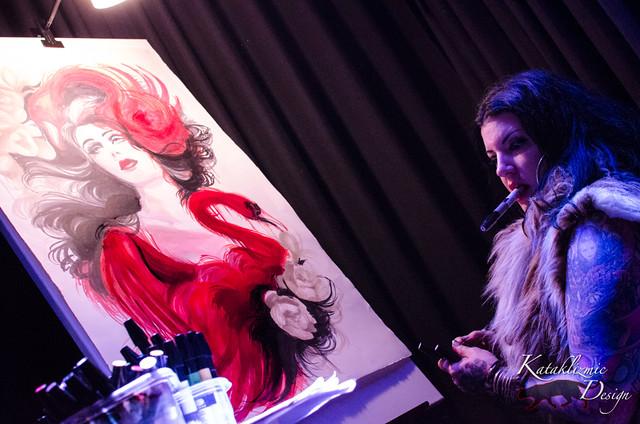 Penguin Odyssey | Art Show @ GypsyBar, Lucky Strike Lanes
