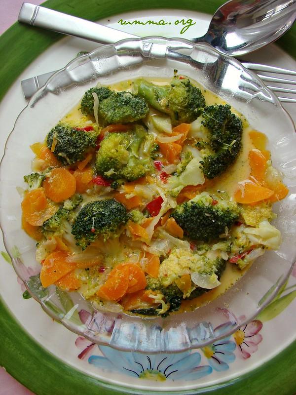 terbiyeli brokoli yemeği