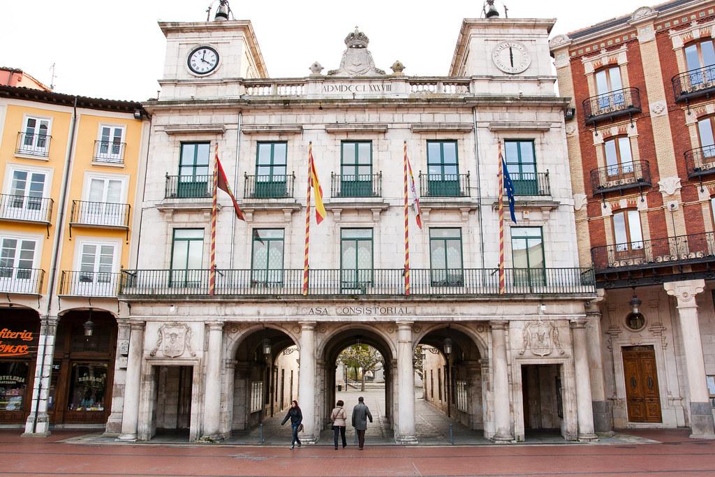 Plaza Mayor, Burgos - Espanha