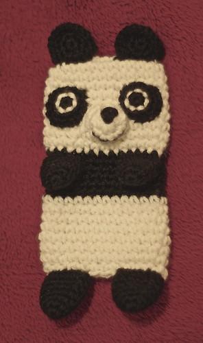 amigurumi#94 iPhone cosy panda clone 1