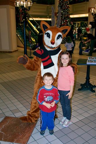 Rudolph Mascot