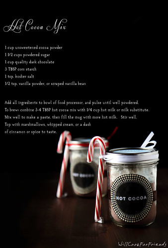 Homemade Hot Cocoa Mix, for the Holidays