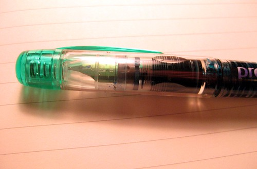 Platinum Preppy fountain pen - awesome cap