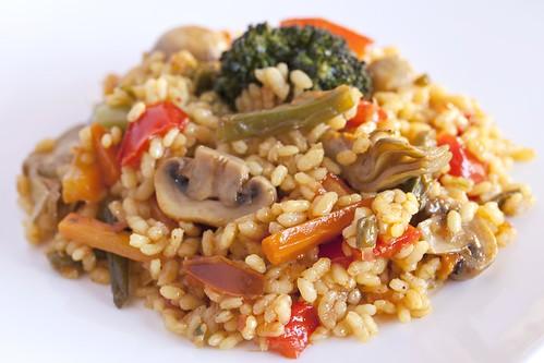 Arròs sec de verdures 2