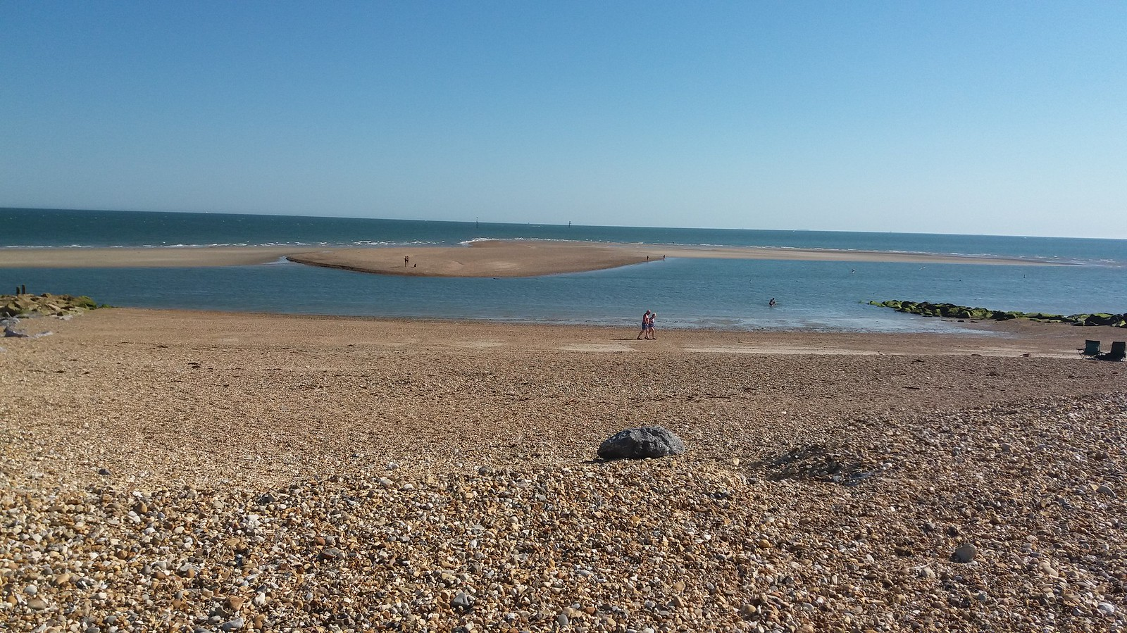 20160719_170046 Eastoke Point (Hayling Island) sandbar