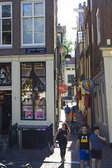 Oudezijds Voorburgwal - Alley View