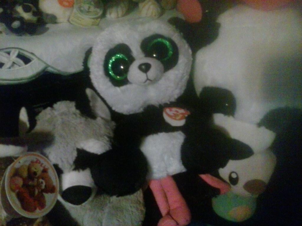 87858bd0aca ... MY TY Beanie Boo Bamboo The Panda Medium Plush 4