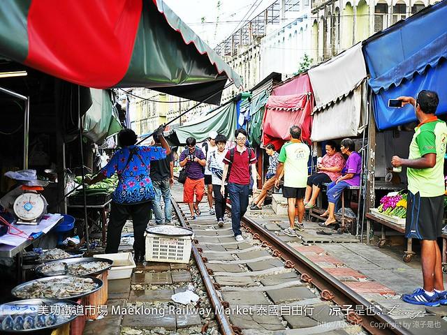 美功鐵道市場 Maeklong Railway Market 泰國自由行 8