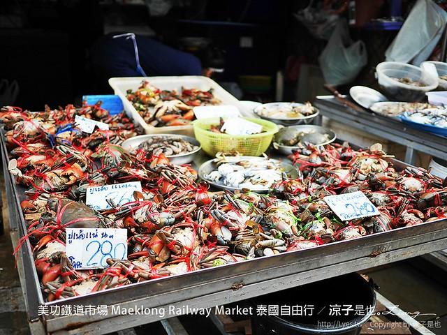美功鐵道市場 Maeklong Railway Market 泰國自由行 24