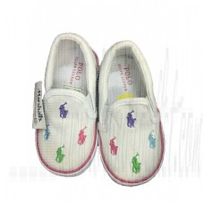 Shoes Kids Toddler Girls Horse Logo Casual Canvas Shoes 2-7 Years