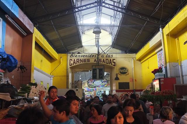 """""""Meat alley,"""" Oaxaca, Nov 2012 1"""