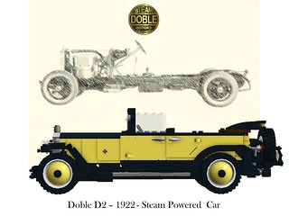 Doble D2 - 1922 - Steam Powered Car
