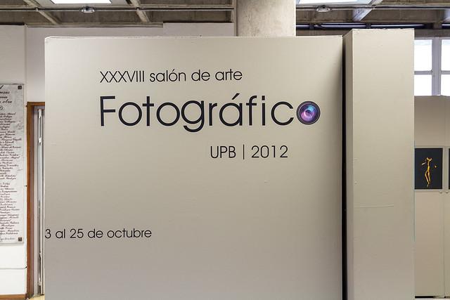 XXXVIII Salón de arte Fotográfico UPB 2012