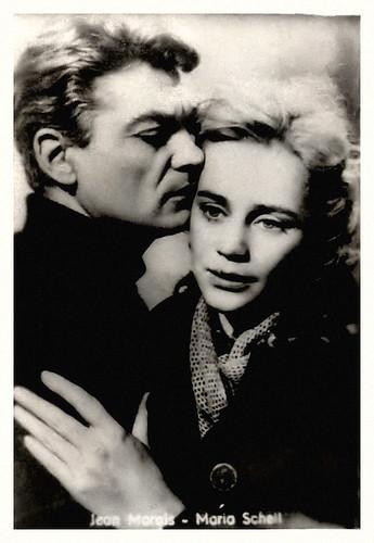 Jean Marais and Maria Schell in Le notti bianche
