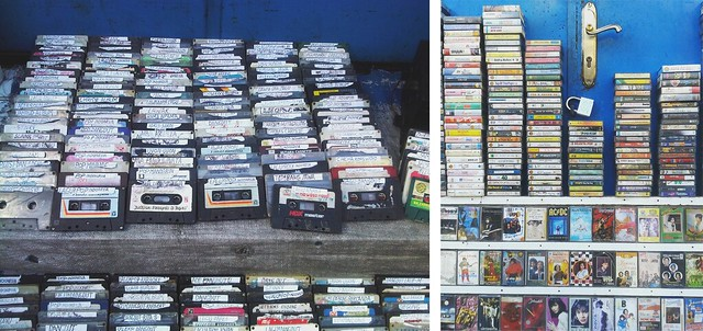 Old cassettes