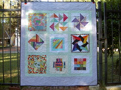 Girls Ranch Rainbow Quilt