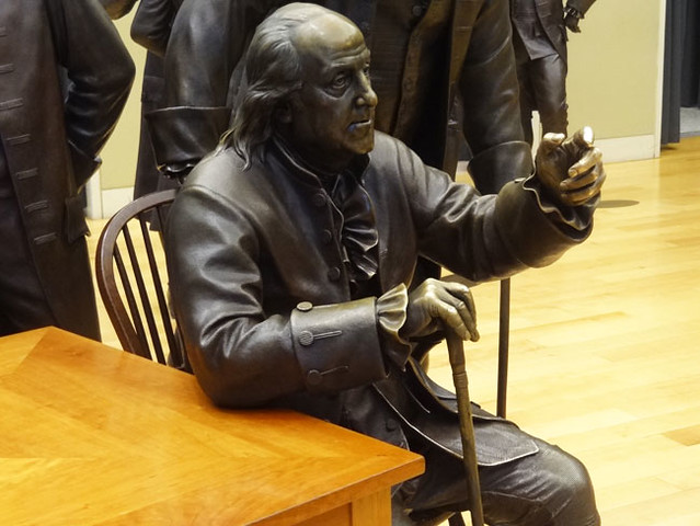 ben-franklin-statue-constitution center