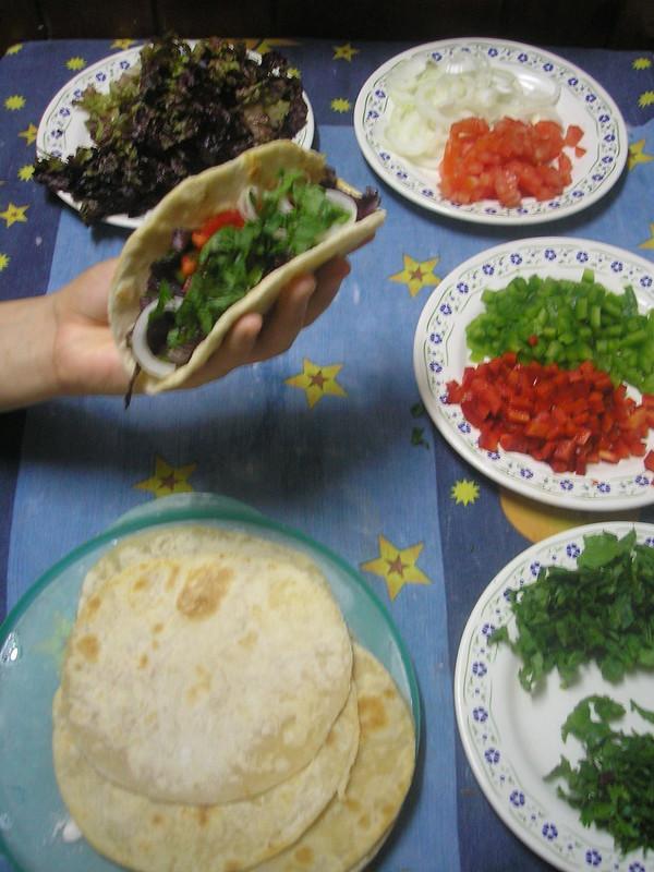 Masa para tacos, enchiladas, fajitas y quesadillas